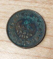 1919 India 1/12 Anna