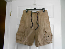 "Mens Size 29 US Polo Assn Cargo Shorts Khaki 10"" Inseam VGUC"