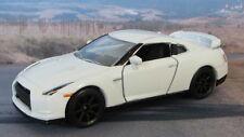 NISSAN GT-R  1:61 (White) Majorette MIP Diecast Passenger Car Sealed