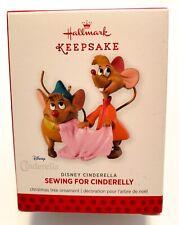 New ListingHallmark Keepsake Disney Cinderella Sewing For Cinderelly Limited 2013 New