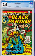 Jungle Action # 7 CGC 9.4 White Pages (1973) Black Panther Marvel Comics G-128