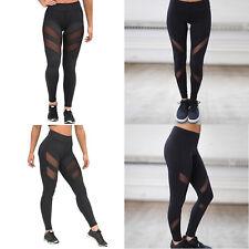 UK Womens Sports Gym Yoga Running Fitness Leggings Pants Jogging Trousers S-XL