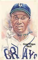 1981 Perez-Steele HOF Celebration Homestead Grays Cool Papa Bell autograph