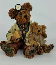 Boyds Bears Bearstone Dr. Harrison Md Phd Bud #228309 Figurine Vintage