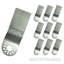 10 X Stainless Oscillating Multi-Tool Uni-Fit Blades for Bosch Multi-X, Chicago