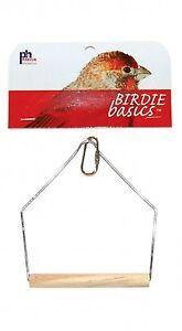 Prevue Pet Products Birdie Basics 4in X 5in Wood Swing
