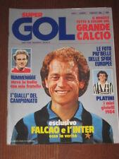 SUPERGOL 1984/1 PRIMO NUMERO! FALCAO DIRCEU PLATINI