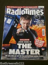 RADIO TIMES - DOCTOR WHO - THE MASTER - JUNE 30 2007