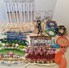 Huge lot, 55 pc, Lilah Ann Beads, Lampwork, Beaded Jewelry, Beadable Pens B-A404