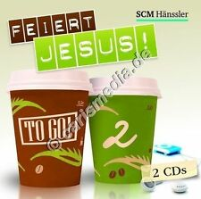 DCD: FEIERT JESUS! TO GO! Vol. 2 - *NEU* - 2 CDs! - dt. Lobpreis - Worship *NEU*