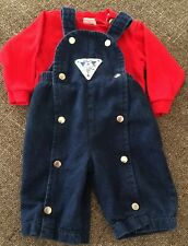 Vintage Carter's Overall Set, Size 3 months