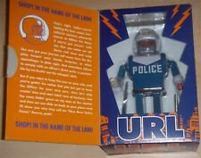 Futurama *****URL Police Robot Action Wind-Up Tin Toy