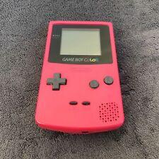 Console Nintendo Game Boy Color Pink Vitre verre neuve EUR Excellent état