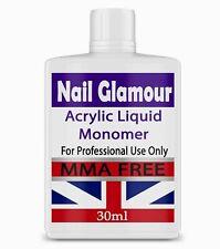NAIL SCULPTING ACRYLIC LIQUID MONOMER SALON HIGH QUALITY UK FREE DELIVERY 30ML