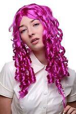 Carnaval Peluca Barroco Púrpura Rizos espiral Lolita Gótica Cosplay 3078-PC51