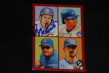 HOF RON SANTO 2009 UD GOUDEY SIGNED AUTOGRAPHED CARD #35-22 CHICAGO CUBS