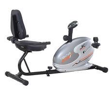 Cyclette orizzontale magnetica TEKNA 305 Jk Fitness recumbent volano 5 kg bike