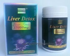 New Costar Liver Detox Liver Tonic 35000 mg 100 Capsules Made in Australia