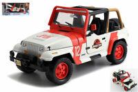 Model Car Scale 1:24 Jeep Wrangler Jurassic Park diecast vehicles