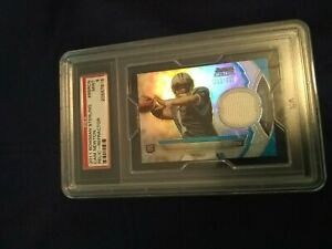 2011 Bowman Sterling Cam Newton Relic-Refractor #13/299 PSA 9