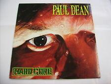 PAUL DEAN - HARD CORE - VINYL LP - EXCELLENT CONDITION 1989 - BON JOVI ON HARP