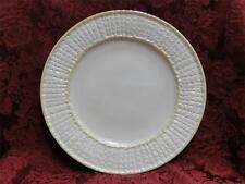 "Belleek (Irish) Limpet Yellow: Dinner Plate 10 5/8"""