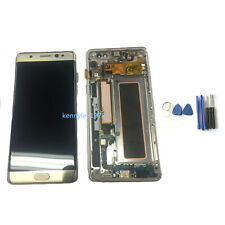 For Samsung Galaxy Note 7 N930 FE LCD Display Touch Screen Digitizer+Frame Gold