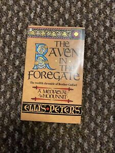 The Raven In The Foregate by Ellis Peters VINTAGE PAPERBACK (1987)