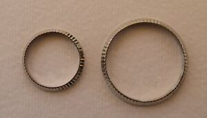 AFTERMARKET STAINLESS STEEL FLUTED BEZEL FOR ROLEX / TUDOR GENTS & LADIES WATCH