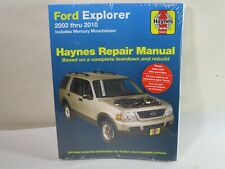 Haynes Publications 36025 Repair Manual fits Ford Explorer 02 thru 10