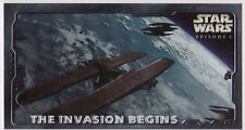 STAR WARS TOPPS EPISODE 1 SERIES 2 WIDEVISION HOBBY EMBOSSED FOIL H-E3 INVASION