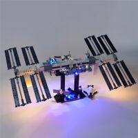 LED Licht Set Für 21321 LEGO Ideas International Space Station Kit mit Anleitung