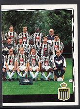 Panini Belgian Football 1999 Sticker - No 102 - Charleroi Team Group