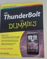 HTC ThunderBolt For Dummies by Dan Gookin  (Author) -2011