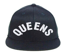 QUEENS New York, Embroidered, Snapback Hats