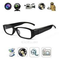 Mini HD 720P Glasses Hidden Eyewear Spy Camera Security Cam DVR Video Recorder