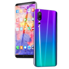 1x 6.1 '' Smartphone 3G Android8.1 Téléphone Mobile 4GB + 64GB FACE ID EU Violet