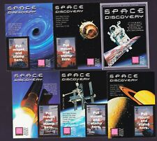 Stamps USPS USA Packet Space Discovery Stampers Savers Cards for Scott 3238-3242