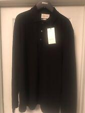New Gucci Men's 441690 Black SLIM Fit Hysteria Crest Cotton Polo Shirt XXXL