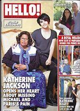 Hello Magazine Katherine Jackson Kate Middleton Roger Federer Katherine Kelly