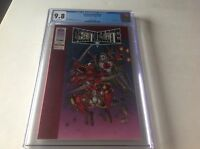 DEATHMATE RED CGC 9.8 WHITE PGS RED FOIL COVER ROB LIEFIELD VALIANT IMAGE COMICS