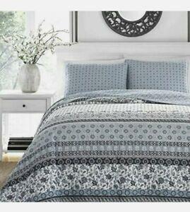 Stone Cottage Bexley Quilt Set King Blue