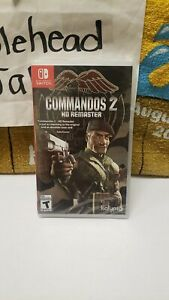 BRAND NEW SEALED COMMANDOS 2 HD REMASTER NINTENDO SWITCH VIDEO GAME