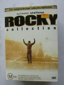 Rocky Collection - Special 25th Anniversary Edition - 5 DVDs + Rocky Balboa