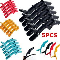 Crocodile Hair Salon Alligator Hair Clips Section Clamps Hairpins Styling Tools-