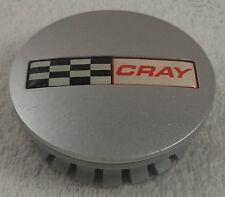 Cray Wheels Silver Custom Wheel Center Cap Caps # D666 / 1704K67