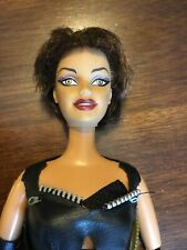 Barbie Doll as Catwoman Halle Berry 2004 OOAK Upcycle