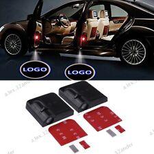 2PCS Wireless LED Car Door Batman Shadow Projector Light Laser Logo Welcome Lamp