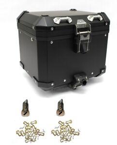 BMW Motorrad R1200GS R1250GS Adventure Aluminum Black Top Box / Case with Locks