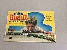 HORNBY DUBLO RAILWAYS RETAIL SHOP DISPLAY CARDS MECCANO ENGLAND OO REPRODUCTION
